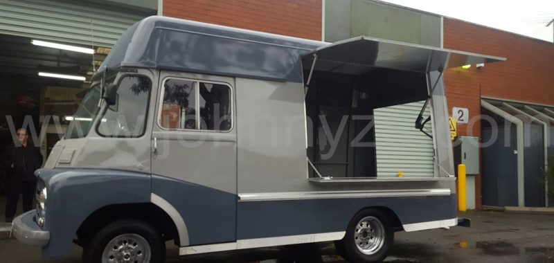 1969 Morris Van - Coffee Van Conversion - UPDATED 27.09.2017