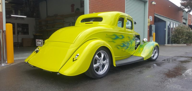 1934 Hemi Ford Coupe - Freshen Up