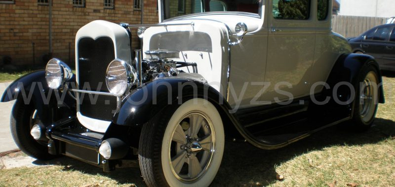 Improved Model A Coupe