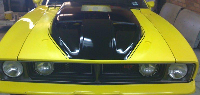 XB GT Custom Bonnet